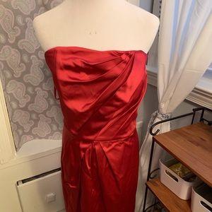 Strapless WHBM dress. EUC. Sz 14
